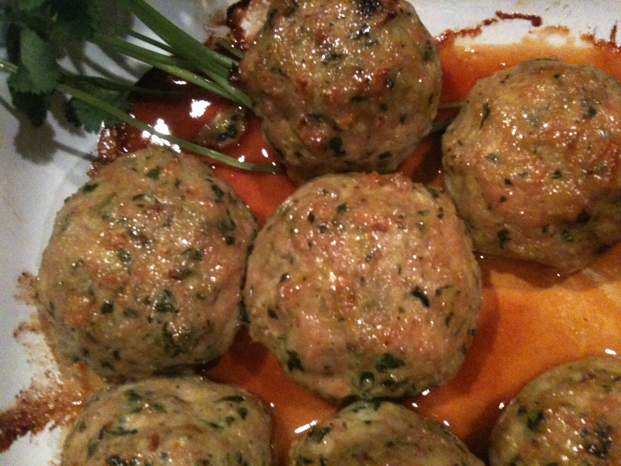 Juicy Chicken Meatballs Recipes — Dishmaps