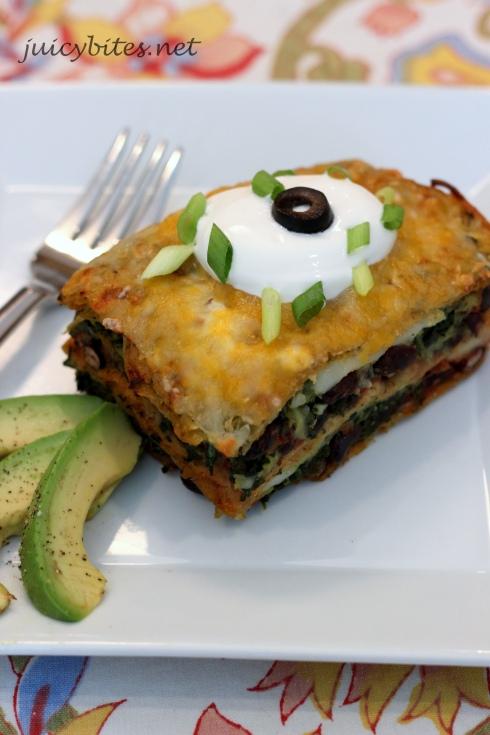 Mexican Lasagna | Juicy Bites