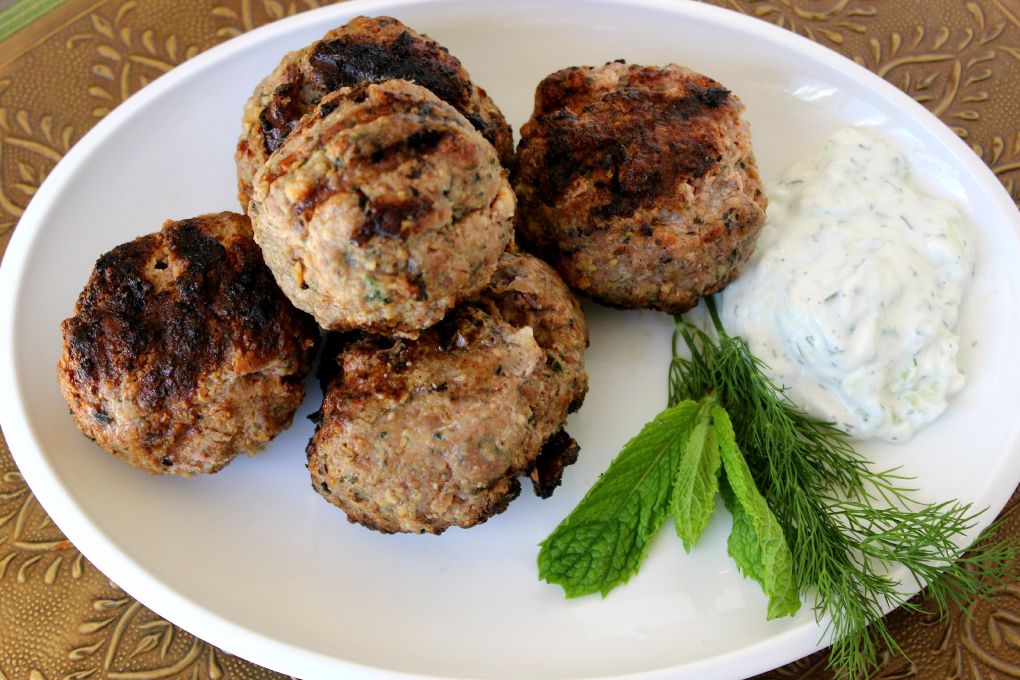 Grilled Meatballs 1