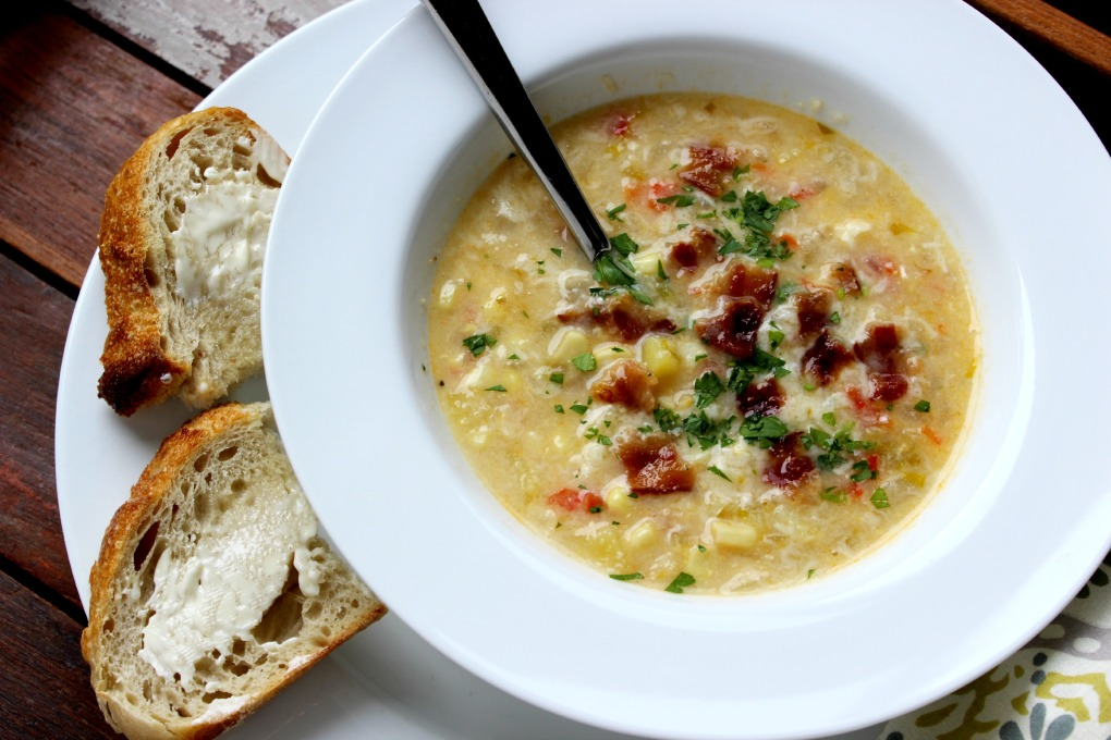 Summer Corn Chowder 2